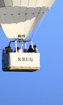 KRUG IN THE AIR